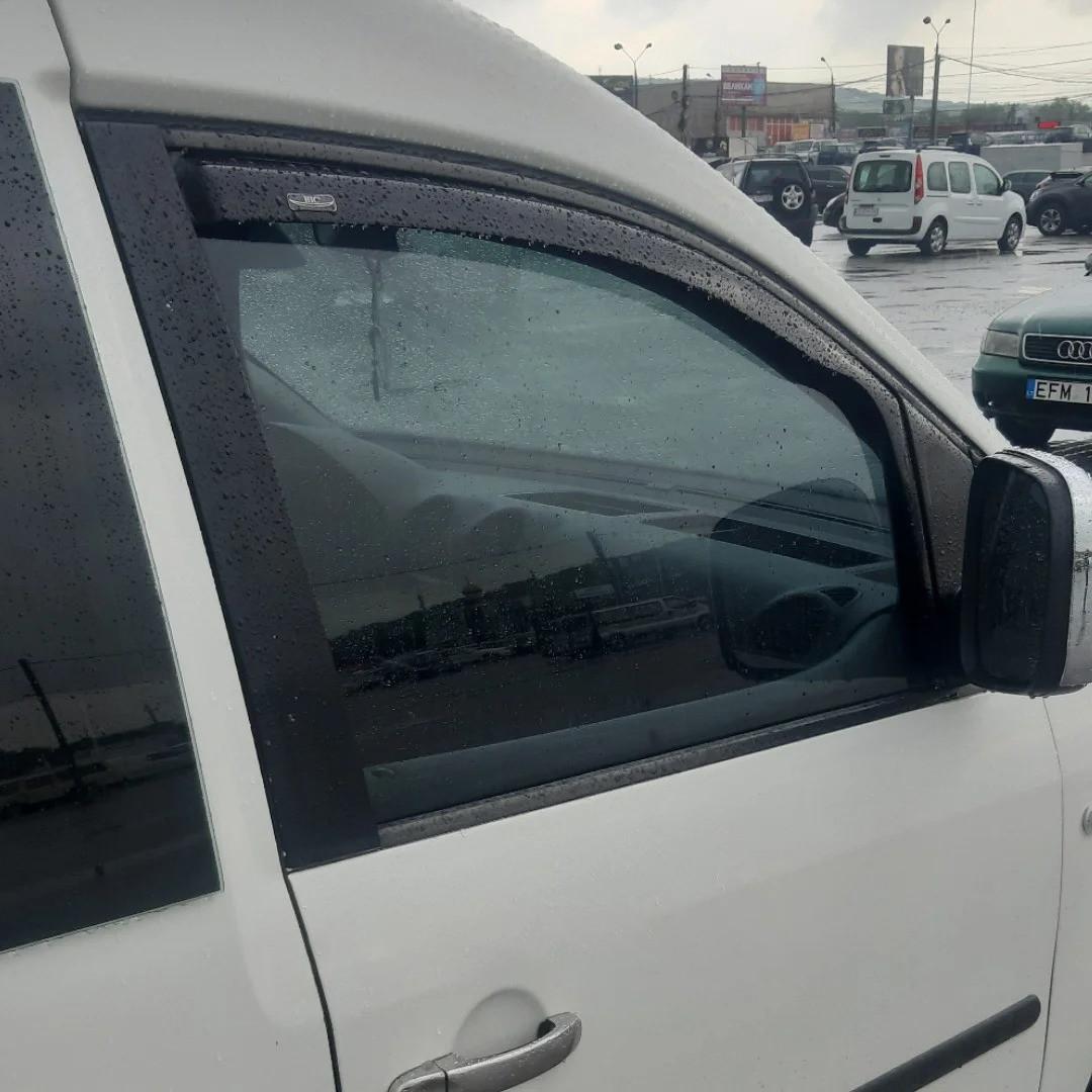 Дефлектори вікон вітровики на RENAULT Рено Kangoo 2008 -> (вставні) 2D 2-ох дверний передні