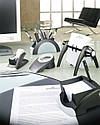 Візитниця настільна обертається VISIFIX FLIP VEGAS DURABLE 2417 02 біла, фото 2