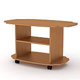 Журнальный стол Твист на колёсиках, фото 5