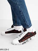 """Кеди чоловічі зручні на шнурівці, розміри 39-44 (10 пар) """"FANAT"""" купити недорого від прямого постачальника"""