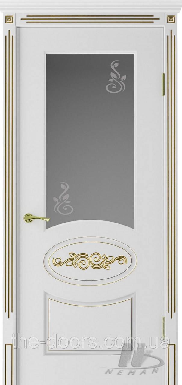 Двери Неман ВИП модель Версаль стекло сатин