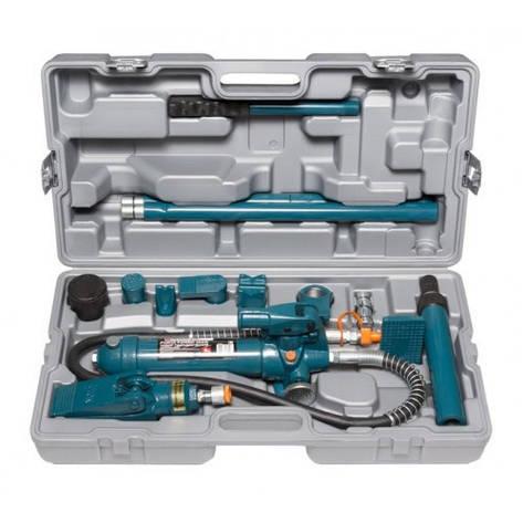 Набор гидравлического оборудования для кузовных работ, 4т, 14пр.,в кейсе, фото 2