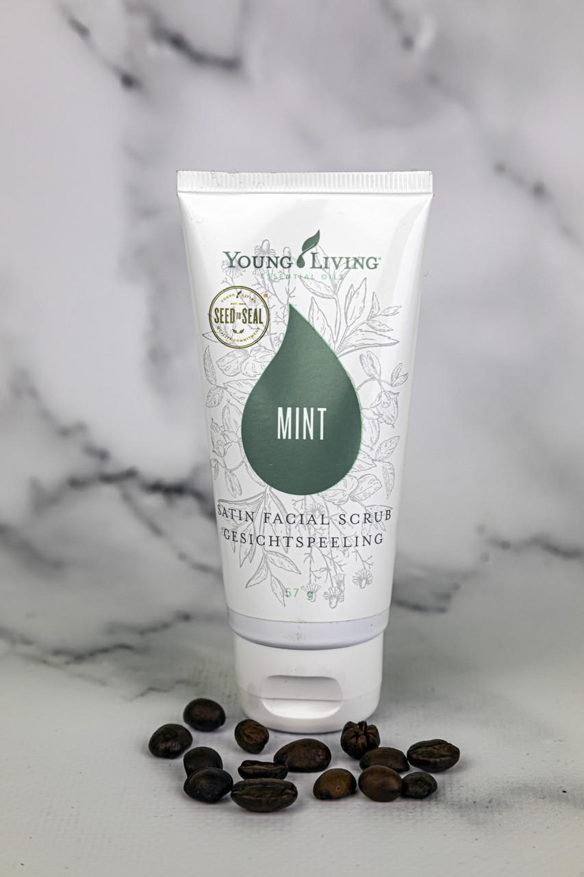 Скраб для лица с мятой Satin Facial Scrub™ Mint Young Living