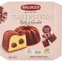Панетон BALOCCO Torte in Festa (з шоколадним кремом) 400 g