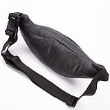 Кожаная сумка на пояс Moon, цвет Черный, фото 6