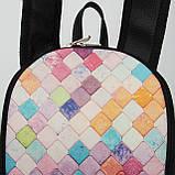 Кожаный рюкзак Print Мозаика, фото 2