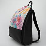 Кожаный рюкзак Print Мозаика, фото 3