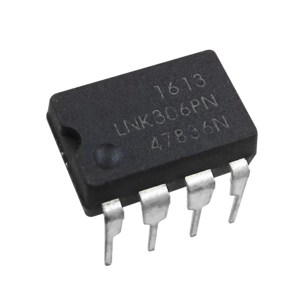 LNK306PN, ШИМ-контроллер Off-line switcher, 12мВт [DIP-8]