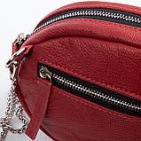 Кожаная женская сумка Jane, цвет Красный, фото 4
