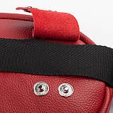 Кожаная женская сумка Jane, цвет Красный, фото 6