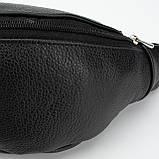 Кожаная сумка на пояс Vita, цвет Чорный, фото 4