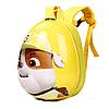 Детский рюкзак для мальчиков и девочек дошкольников Щенячий патруль Крепыш Желтый