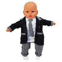 Костюм для мальчика 68-86 (6-18м.) 364, с галстуком