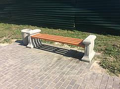 Бетонная лавочка, бетонная скамейка, бетонные парковые скамейки, скамейки бетон, лавка из бетона