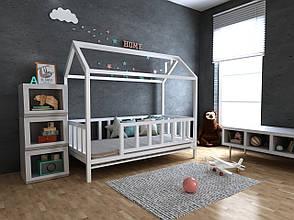 ✅Дитяче Дерев'яне ліжко будиночок Тедді ТМ MegaOpt, фото 2