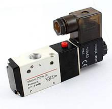 Распределитель пневматический 3V210-08-220V (Сх.3/2) с электромагнитным управлением