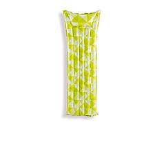 Пляжний надувний матрац з підголовником Intex 59712, 183 х 69 см, салатовий