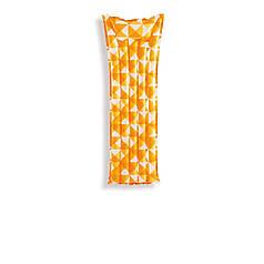 Пляжний надувний матрац з підголовником Intex 59712, 183 х 69 см, оранжевий