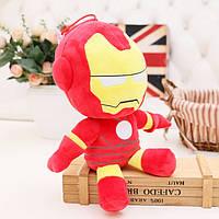 Marvel Железный Человек мягкая детская игрушка 25см плюшевый Iron Man Avangers