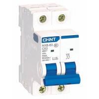 Автоматичний вимикач NXB-63 2P B3 6kA