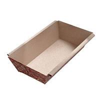 Бумажная форма для кексов 200х90х50 мм, золотой узор