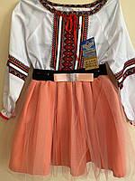 Національний святковий костюм блуза та спідничка для дівчинки вік 9-10 років