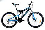 Велосипед Azimut Power 24 х17 GFRD Шимано, фото 3