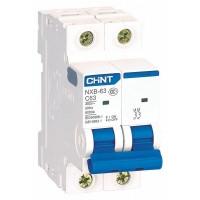 Автоматичний вимикач NXB-63 2P B20 6kA