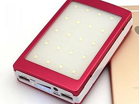 Универсальный мобильный Power Bank Samsung 10000mAh Портативное зарядное устройство на солнечной батарее, фото 2