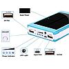 Универсальный мобильный Power Bank Samsung 10000mAh Портативное зарядное устройство на солнечной батарее, фото 4