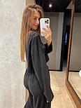 Модный костюм женский спортивный с короткой кофтой, фото 5