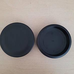 Заглушка внутрішня кругла 100, фото 2