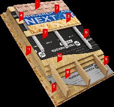 Подкладочный ковер  еврорубероид ТехноНИКОЛЬ ANDEREP PROF цена за м2, фото 3