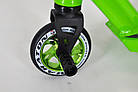Трюковый самокат Maraton Project для фристайла Зеленый, фото 7