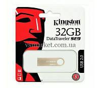 Флеш пам'ять USB 32Gb Kingston SE9 (Метал), фото 1