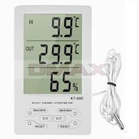 Термогигрометр KT-905 с выносным датчиком для измерения влажности