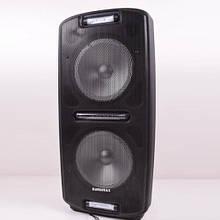 Портативная Bluetooth колонка с 1 микрофоном Euromax 2002 Черный