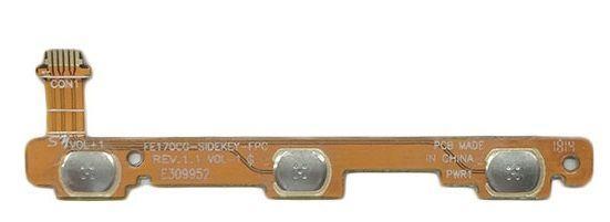 Шлейф Asus ME170 MeMO Pad 7 (K01A / K012 / K017) з кнопкою включення і регулювання гучності