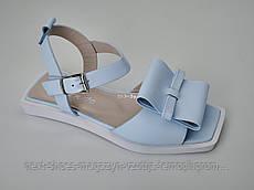 Босоножки женские голубые Evromoda Турция летние арт 1278-0833963 модель 4946