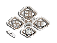 Led Люстра AS8190/4GR LED 3color dimmer (Серый) 95W, фото 1