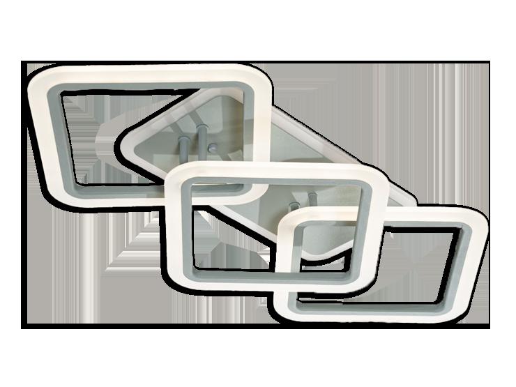 Led Люстра MX2400/2+1LC BK LED 3color dimmer (Черный) 70W