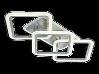 Led Люстра MX2400/2+1LC BK LED 3color dimmer (Черный) 70W, фото 1