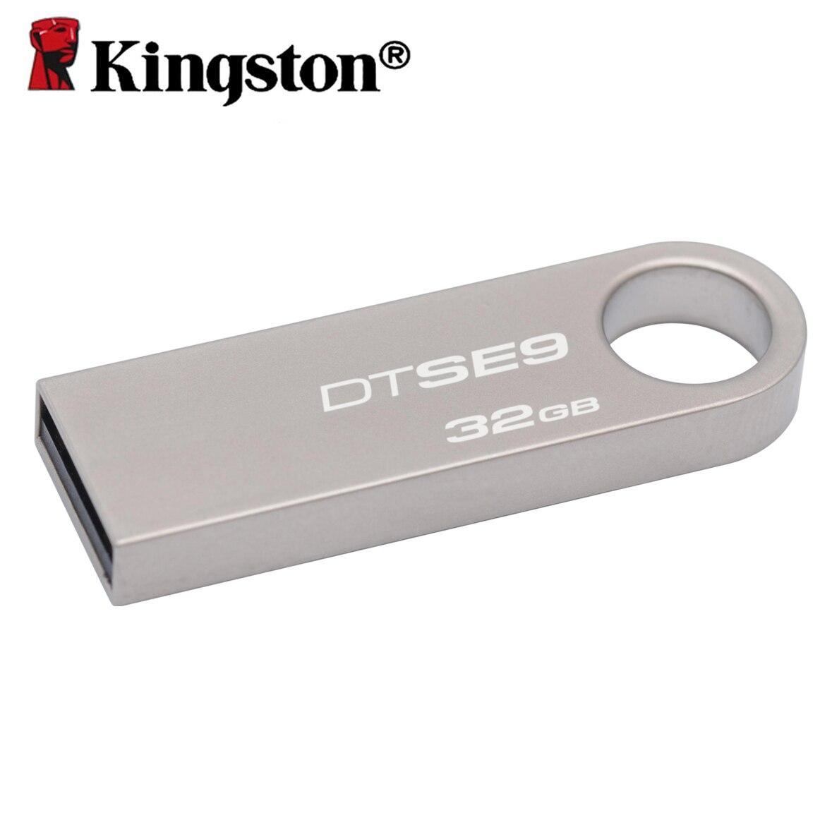 Флеш пам'ять USB 32Gb Kingston SE9 (Метал)