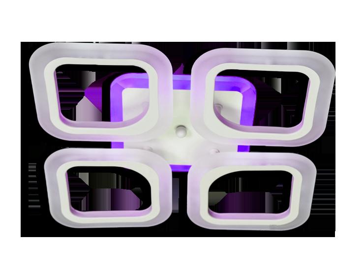 Led Люстра S8060/4WH LED 3color dimmer (Белый) 55W