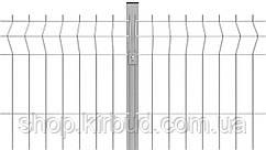 Парканна секція 1500ммх2000мм Оцинкований дріт 4/4 мм