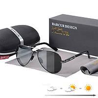 Фотохромные поляризационные солнцезащитные очки, мужские солнцезащитные очки для рыбалки и походов