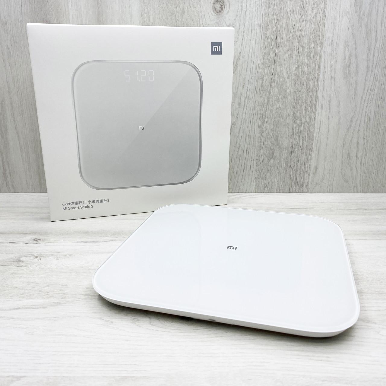 Смарт-весы Xiaomi Mi Smart Scale 2 (белые)