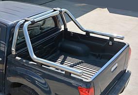 Fiat Fullback 2016↗ рр. Дуга на кузов (нержавійка) 60мм