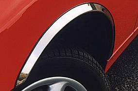 BMW 5 серія E-60/61 2003-2010 рр. Накладки на арки (4 шт, нерж)