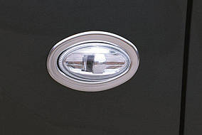 Peugeot Expert 2017↗ рр. Обведення поворотника OmsaLine (2 шт., нерж)